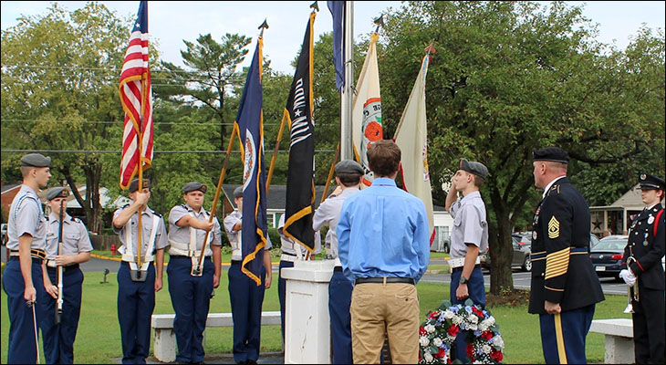 Orange County High School JROTC Remembers 9/11 Attacks