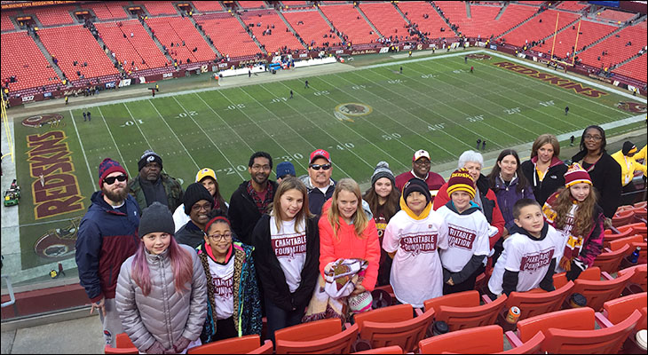 Lightfoot Students, Parents, and Staff Embrace Reading with the Redskins