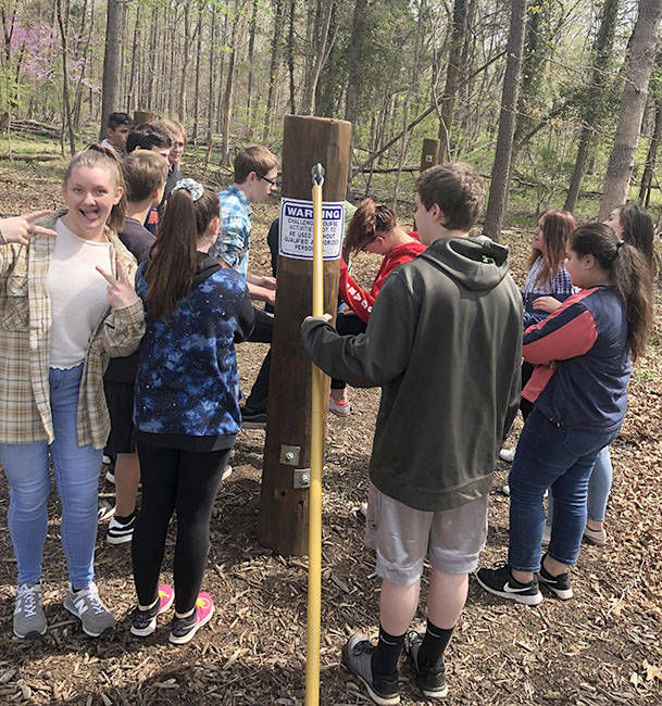 OCHS Freshman Academy Students Traveled to the Edge at GMU