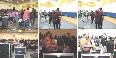 Photo Gallery from Robotics Competition
