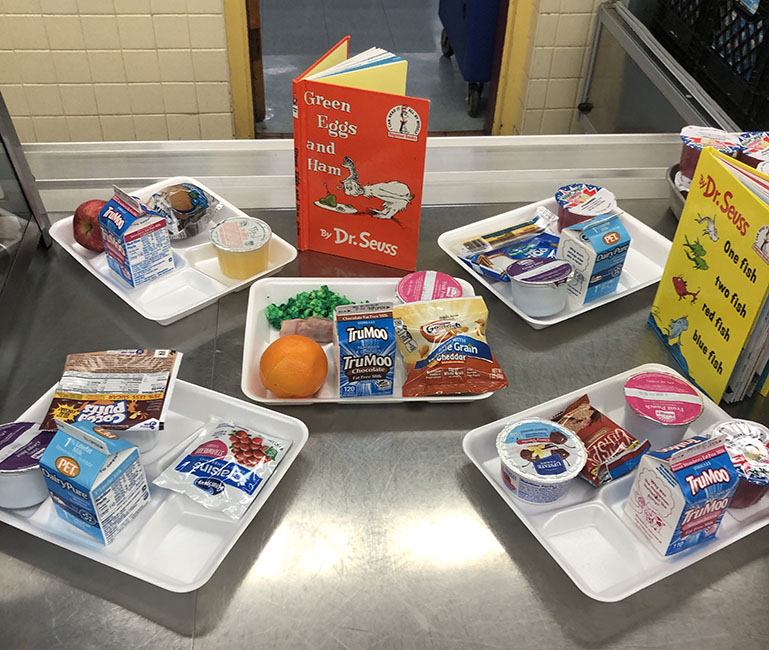 Orange Elementary Cafeteria prepares for National School Breakfast Week