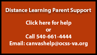 Distance Learning Parent Support paths.