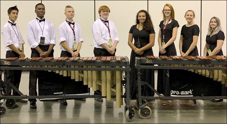 Orange County High School Percussion Ensemble Finishes First in Indianapolis Competition