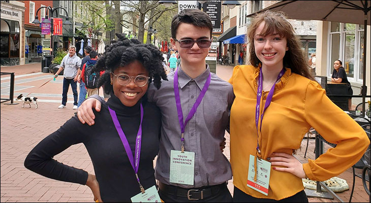 Orange County High School Students Participate in the Tom Tom Youth Summit