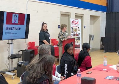 An Active October for OCHS Family, Career, and Community Leaders of America