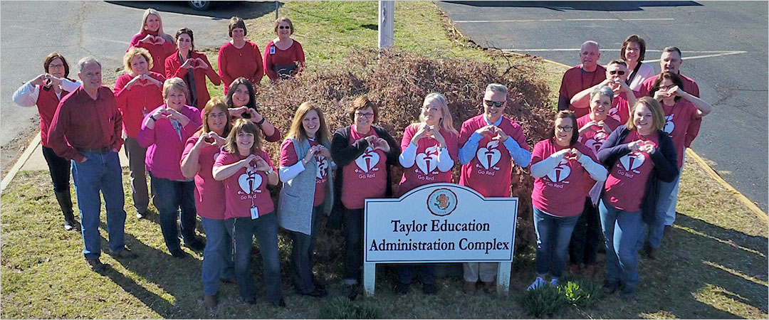 """TEAC Staff Participated in the """"Our Staff Has Heart Campaign"""" sponsored by the American Heart Association"""