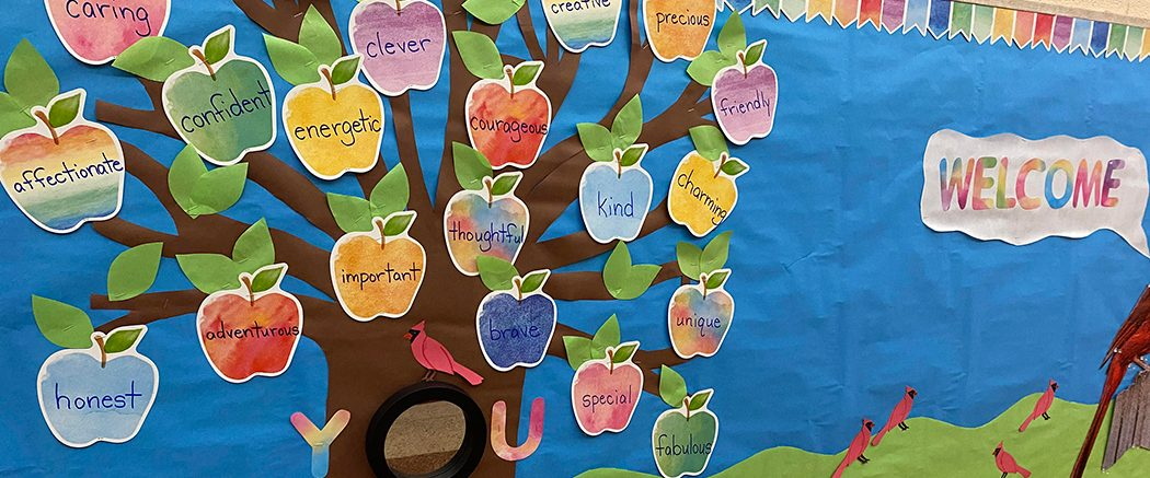 LGP Word tree of descriptions of teachers and students